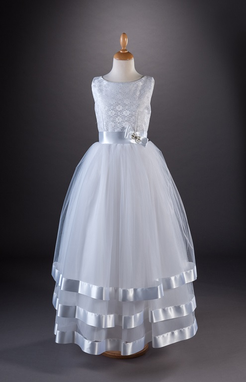Celeste Communion Gown